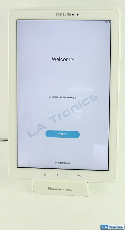 "Samsung Galaxy TAB A 10.1"" Tablet SM-P580 16GB Android With S Pen White Image 1"