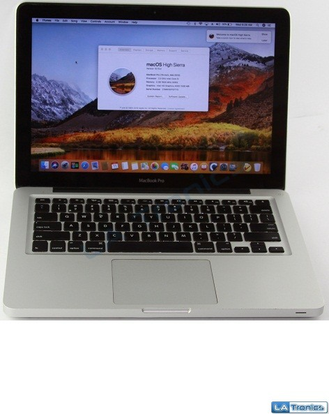 "Apple MacBook Pro A1278 13"" Mid 2012 Intel i5 2.5GHz 4GB RAM 256GB SSD MD101LL/A Image 1"