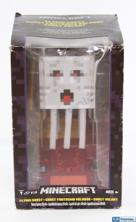 Mattel Minecraft Flying Ghast Quadcopter w/ Remote Controller DNM77 Image 1