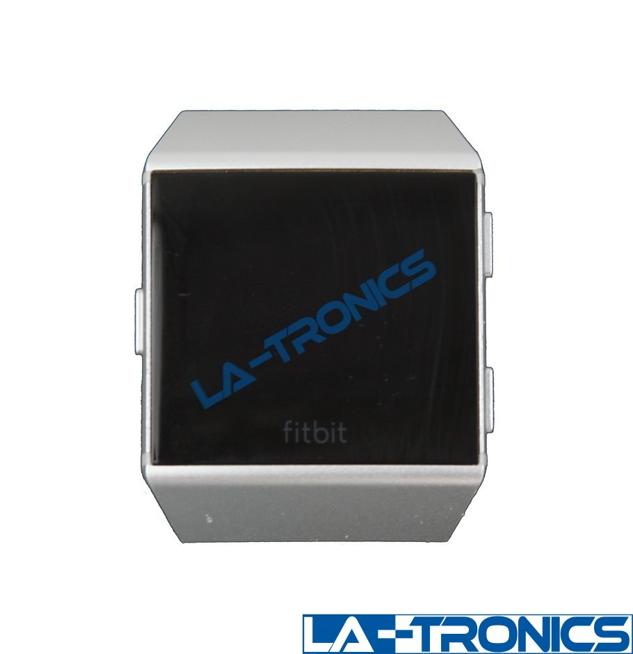 Fitbit Ionic FB503 Bluetooth Activity Tracker Pebble Only - Silver *PARTS*